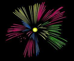 fuochi d artificio clipart fuochi d artificio di colore mulit clipart vector clipart