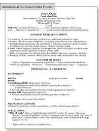 Vitae Resume Template Resume Curriculum Vitae 21100