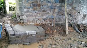 renovating an old stone cottage