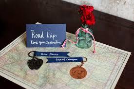 Travel Themed Wedding Travel Theme Wedding Favors 8 Ways To Plan A Travel Themed U2026