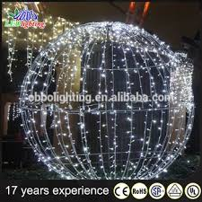 2016 outdoor decoration large outdoor balls
