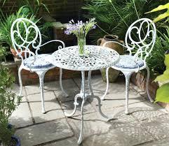White Metal Patio Chairs White Iron Patio Furniture Brilliant Iron Patio Table Ideas