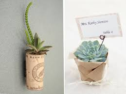 succulent wedding favors winter wedding idea succulents