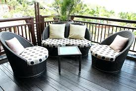 small deck furniture patio small space patio sets outdoor furniture
