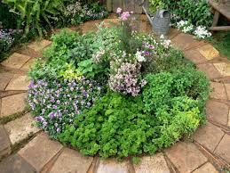 how to create an herb circle hgtv