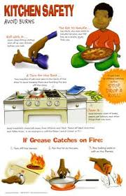 kitchen safety chart for kids familyconsumersciences com
