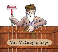 mr mcgregor s garden rabbit how does mr mcgregor s fence work