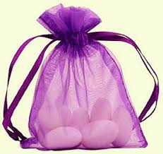 large organza bags buy large organza bags 10 purple 8x11 sheer fabric gift pouch in