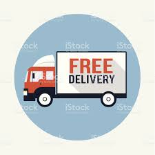 free delivery truck flat icon stock vector art 475261005 istock