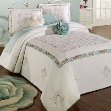 Off White Duvet Cover King Precious Peony Floral King Bedspread Bedding