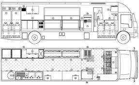 Ice Cream Shop Floor Plan Mobile Kitchen Floor Plan Food Trucks Capstone Pinterest