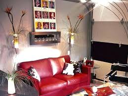 red leather sofa living room ideas decorating ideas living room red leather sofa modern red leather