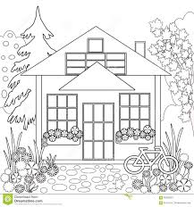 white house coloring page coloring page