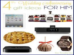 4th anniversary gift ideas anniversary gift gift for husband important dates wedding