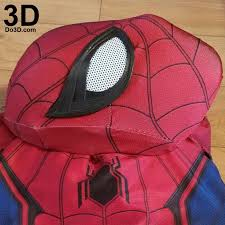 3d printable model spider man homecoming captain america civil