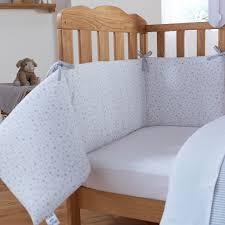 Cot Bumper Sets Clair De Lune Stars U0026 Stripes Cot Cot Bed Quilt U0026 Bumper Set