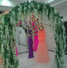 cheap garlands for weddings upscale artificial silk flower vine home decor simulation wisteria