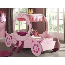princess carriage bed frame pink furniture mill outlet