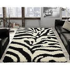 Black And White Zebra Area Rug Amazon Com Zebra Area Rug Animal Skin Print Modern Carpet Black