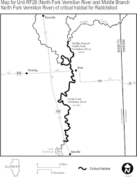Danville Ohio Map by Federal Register Endangered And Threatened Wildlife And Plants