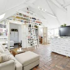 attic loft beautiful white attic penthouse decor advisor