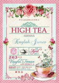 high tea kitchen tea ideas high tea bridal shower invitations vertabox