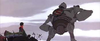 the iron giant su per man two cents soars with the iron giant cinapse