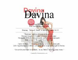 In House Meaning by Meaning Of The Scottish Female Name Davina From Hebrew Origin Is