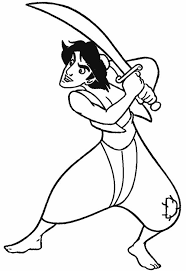 aladdin coloring pages coloringsuite com