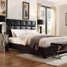 White Or Black Bedroom Furniture Pulaski Furniture All In 1 Brown King Upholstered Bed Ds 2291 Br