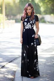 how to pull off sheer clothing maxi dresses printing and sheer