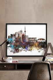 Art Decor Home Toronto Poster Canada Toronto Toronto Print Wall Art Home