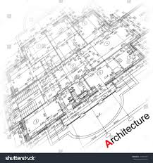 abstract architectural background part architectural project stock