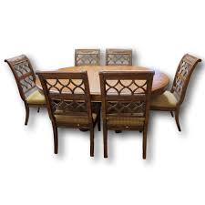 Dining Room Sets 6 Chairs by Drexel Heritage U0027talavera U0027 Dining Table W 6 Chairs Upscale