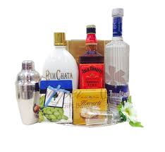 american classic liquor gift basket by pompei baskets