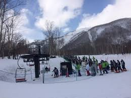 this chairlift for beginners is right outside the hotel picture