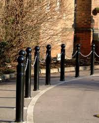 ornamental bollards installer barclay fencing contractors