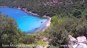 samos 2013 short walk from mourtia to micro lakka beach youtube