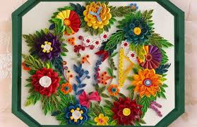 paper quilling art how to make paper quilling wall frames