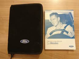ford mondeo mk3 owners handbook manual and wallet 04 07 u2022 12 99