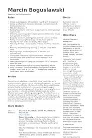 Central Service Technician Resume Sample by Senior Architect Resume Samples Visualcv Resume Samples Database
