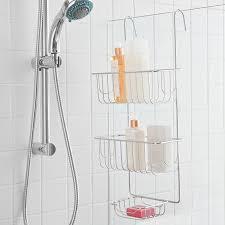 Door Shower Caddy Howards Storage World The Door 2 Shelf Shower Caddy Ideas