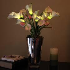 Artificial Flower Arrangement In Vase Decorating Beautiful Silk Flower Arrangements For Your Table