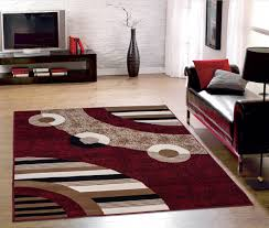 livingroom rugs modern living room with red color modern circles design area rug