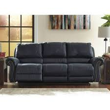 Powered Reclining Sofa by Milhaven Navy Power Reclining Sofa Signature Design Furniture Cart