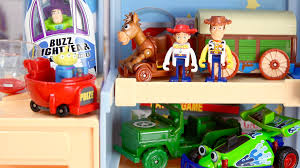 Toy Story Andys Bedroom Toy Story Andy U0027s Room Woody Panorama Bag Tomica Disney Pixar Youtube