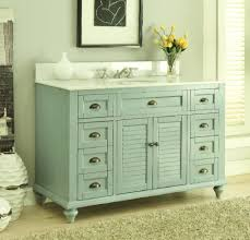 Bathroom Vanities Beach Cottage Style by 48 Inch Bathroom Vanity Cottage Coastal Beach Style Aqua Green