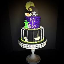 nightmare before christmas baby shower knapp rebeccas cakes instagram photos and