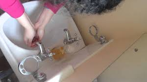 Faucet In British English How To Wash Your Face With Two Taps On A British Sink Basin
