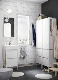 bathroom storage cabinets floor wall mounted white ceramic double